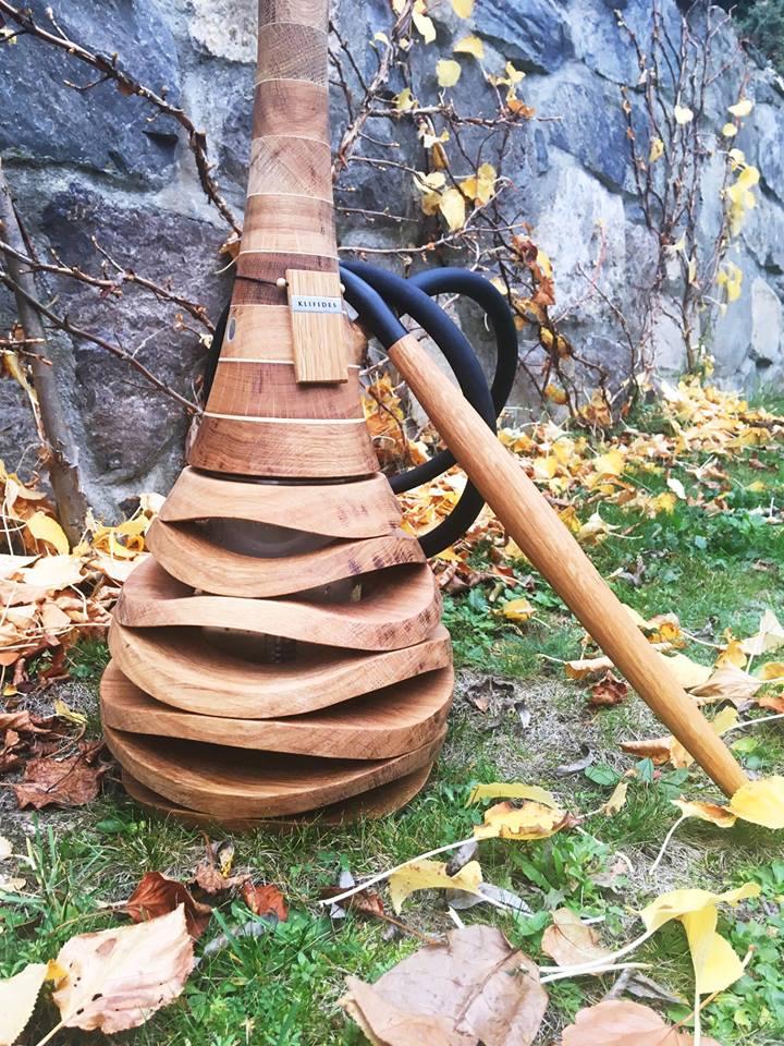 Кальян из дерева Klifides