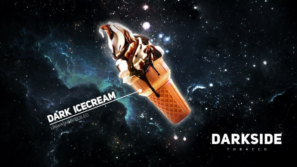 DarkSide Icecream Дарксайд шоколадное мороженое