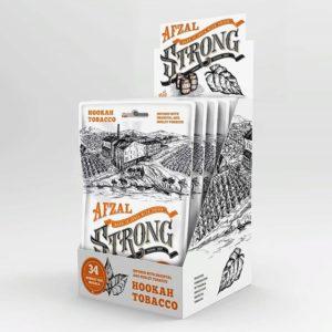 Новый табак Afzal Strong