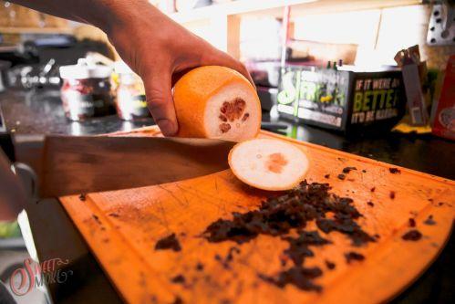 Как приготовить кальян на фрукте?