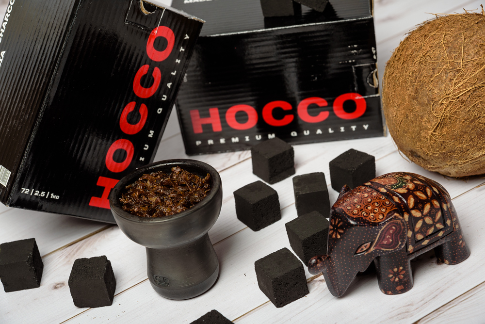 Уголь для кальна Hocco