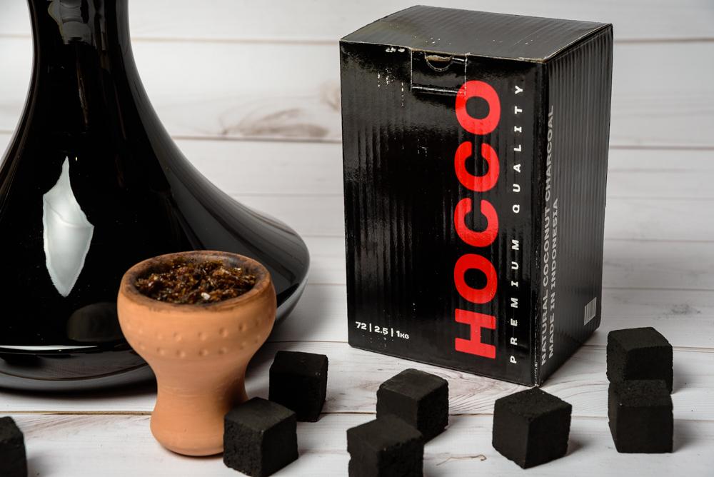 Уголь Hocco для кальяна