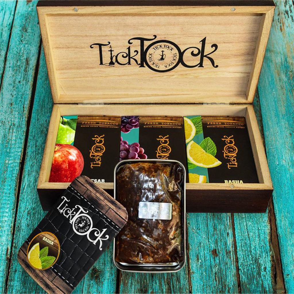 Упаковка табака Tick Tock