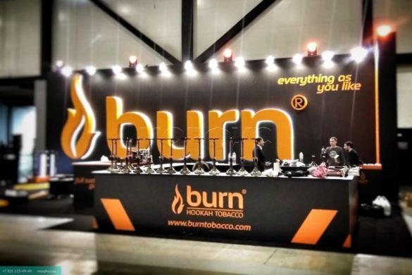 Новые вкусы табака BURN
